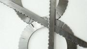 Kreis- und Flachmesser fein gerillt
