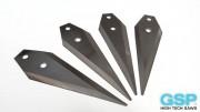 Couteaux HSS pour découper les tuyaux hydrauliques