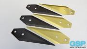 ציפוי TiN וציפוי TiAIN על סכיני Alfa