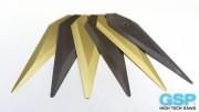 Revestimiento TiN y revestimiento TiAlN en cuchillas Alfa