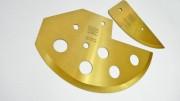 Segmental Knives with TiN coating