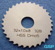 Lama sega circolare HSS 32x1,0x8 32B