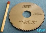 HSS sečivo testere za rezanje 40x1,6x10 64A-5