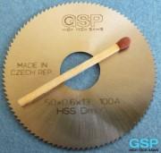 Λεπίδα φρέζας ελικοειδών σχισμών HSS 50x0,6x13 100A-5