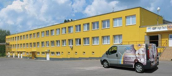 Sitz der Gesellschaft GSP Zborovice