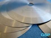 סכיני פלדת אל-חלד לתעשיית המזון 90 × 1.0 × 12-6